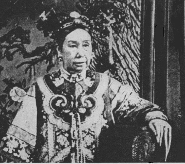 Chinese Dowager with long nails